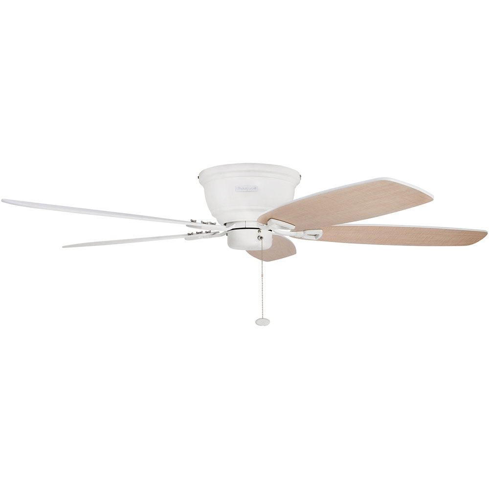 Honeywell Glen Alden Ceiling Fan, White Finish, 52 Inch - 50180