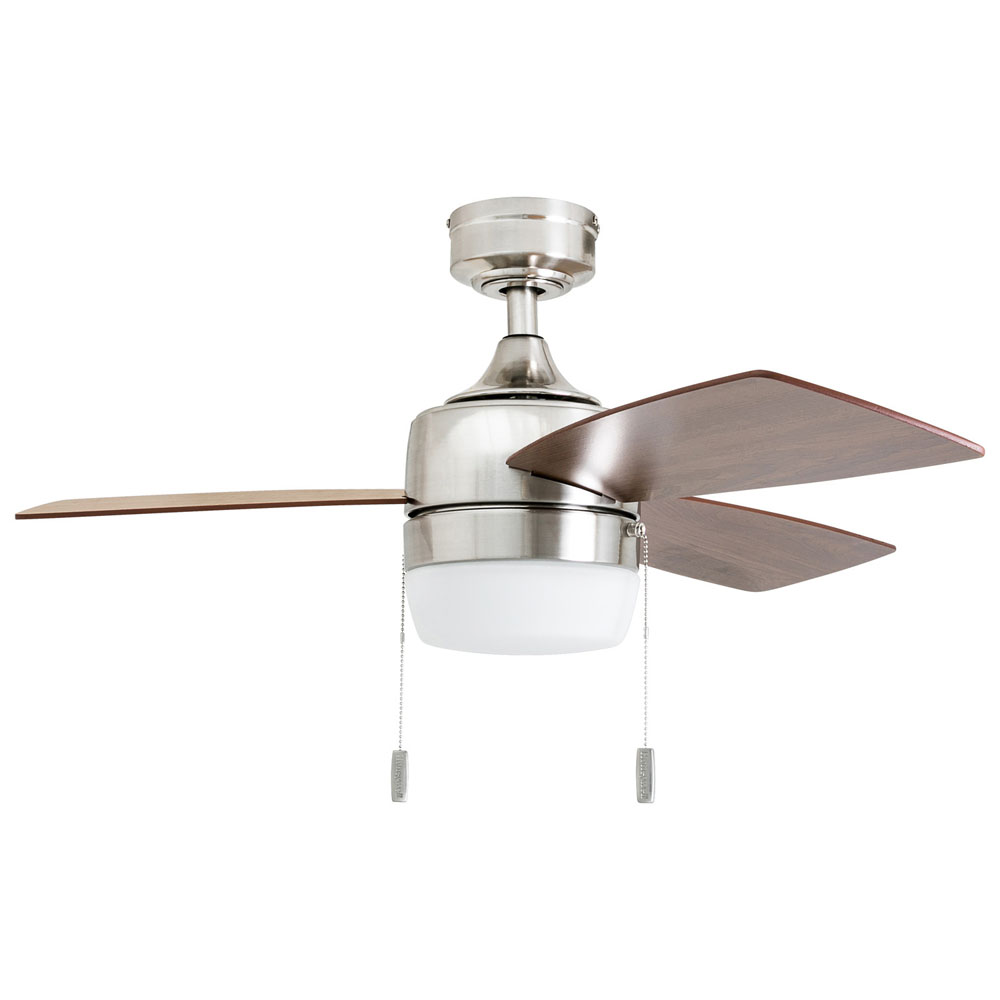 Honeywell Barcadero 44 In. Modern Nickel LED Ceiling Fan - 50616-03