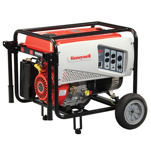 Honeywell 6,500 Watt 389cc OHV Portable Gas Powered Generator & Maintenance Kit