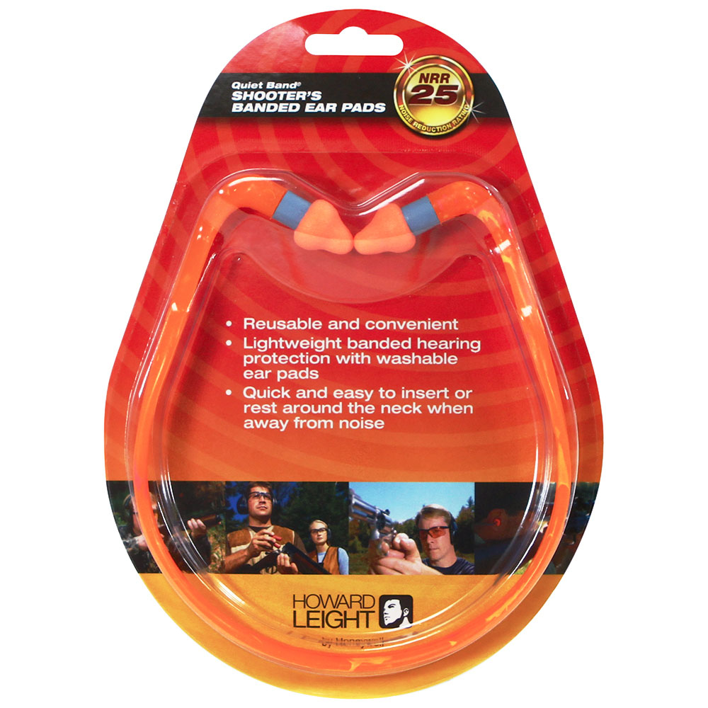 Honeywell QB2HYG Banded Style earplugs with reusable pods - R-01538