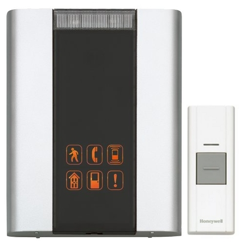 Honeywell RCWL330A100/N P4-Premium Portable Wireless Door Chime and Push Button