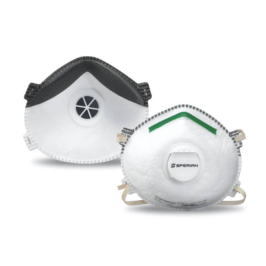 Honeywell Sperian Saf-T-Fit Plus N95 Disposable Respirator with exhalation valve, 1-pack - RWS-54006