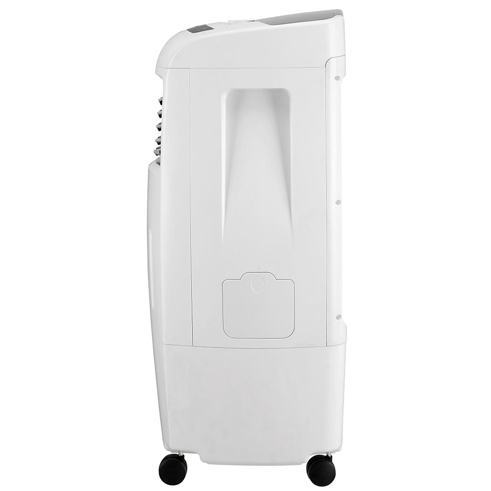 Honeywell CL25AE Evaporative Air Cooler, Fan & Humidifier with Ice Compartment, 500 CFM - 6.6 Gallon Tank (White)
