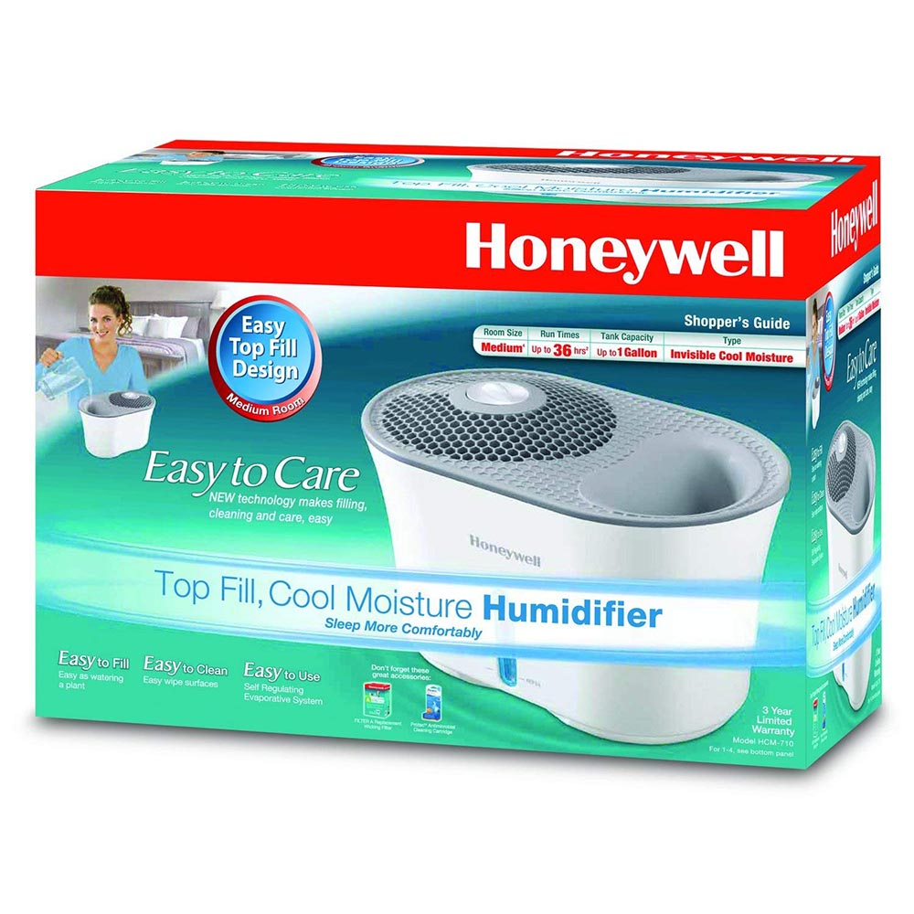 Honeywell Easy to Care Top Fill Humidifier White, HCM-710