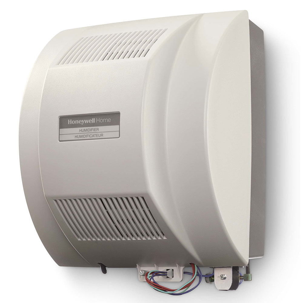 Honeywell Whole House Fan-Powered Humidifier w/ Installation Kit HE360A1075