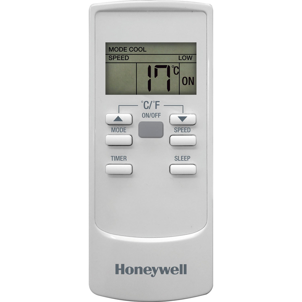 Honeywell HL10CESWW Portable Air Conditioner 10,000 BTU Cooling, with Dehumidifier & Remote (White)