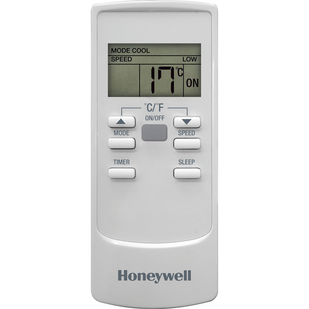 Honeywell HL14CESWW Portable Air Conditioner 14,000 BTU Cooling, with Dehumidifier & Fan (White)