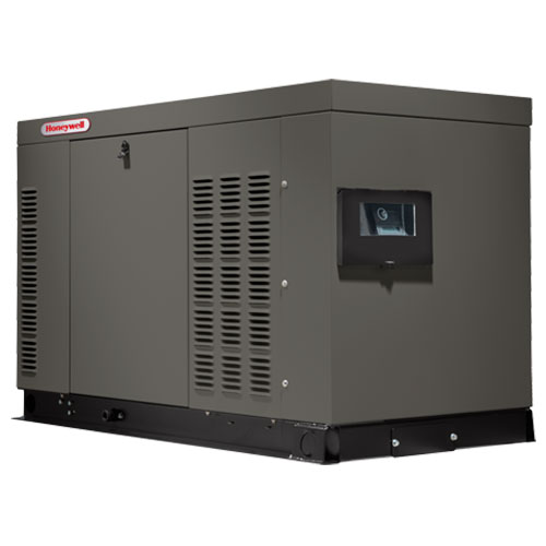 Honeywell HG02224, Liquid Cooled 22kW Home Standby Generator (CA/MA Approved)