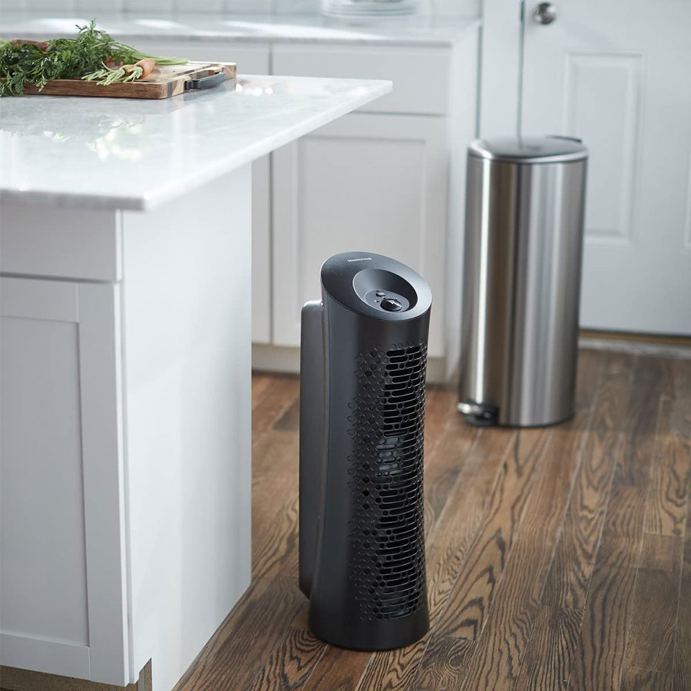 Honeywell True HEPA Tower Allergen Remover Air Purifier - Black, HPA030B