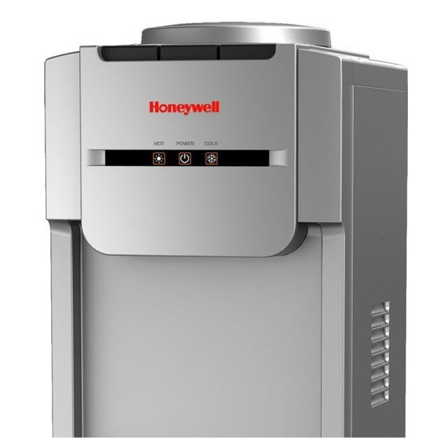 Honeywell Antibacterial Chemical-Free Technology 38-Inch Freestanding Water Cooler Dispenser, Silver - HWBAP1073S