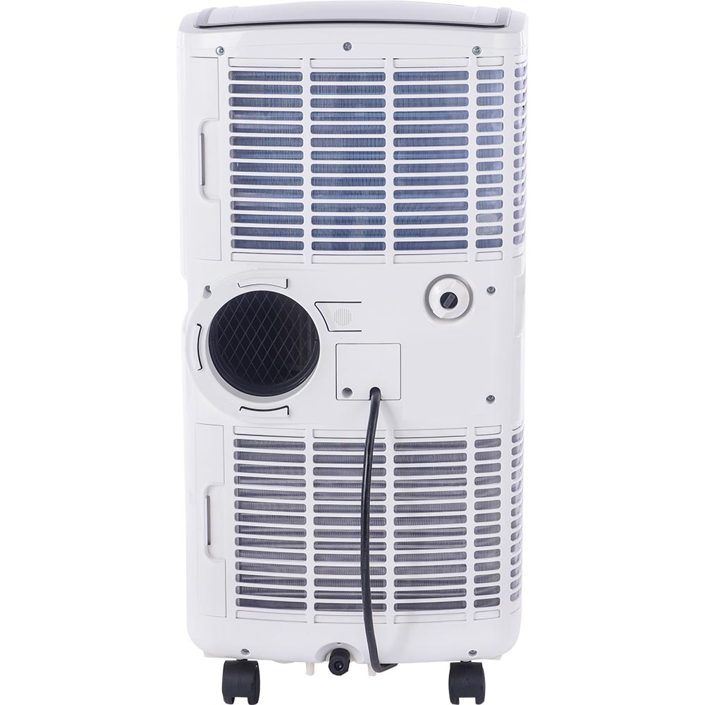 Honeywell MO10CESWK Compact Air Conditioner, 10,000 BTU Cooling, with Dehumidifier & Fan (White/Black)