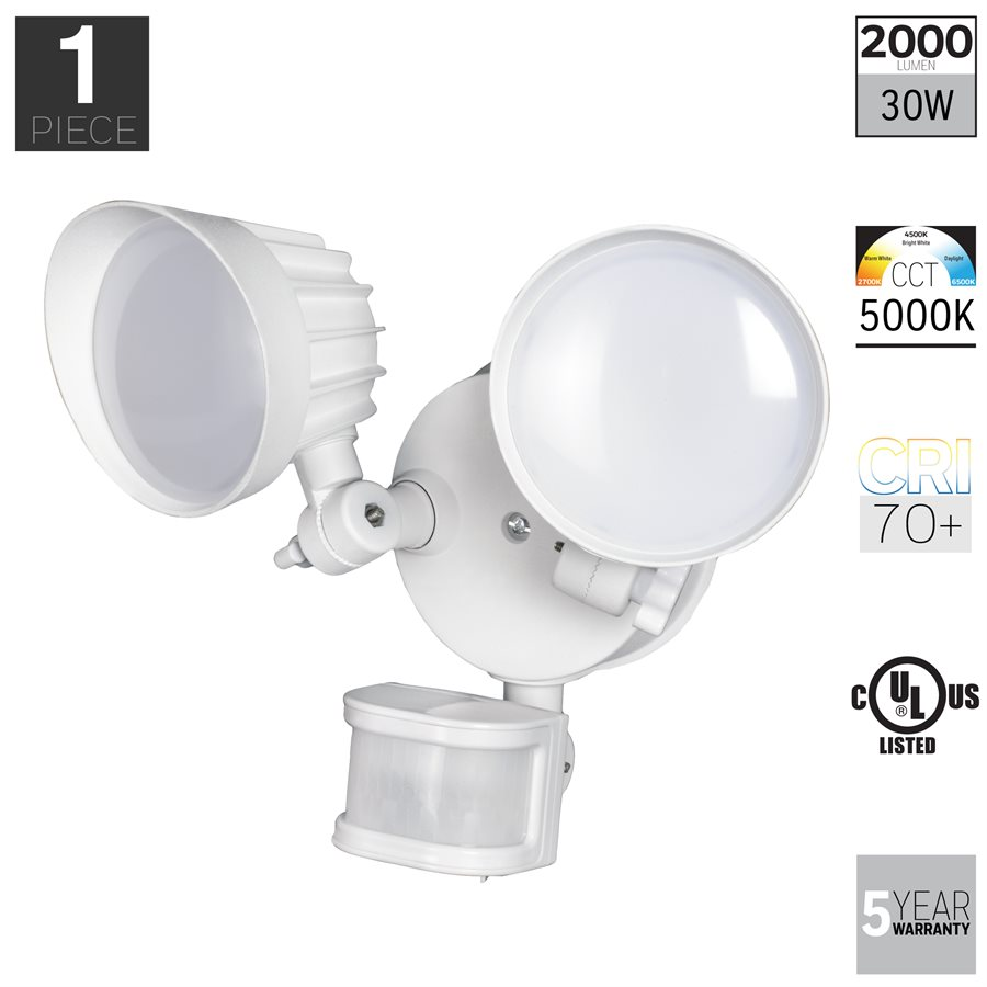 Honeywell LED Security Floodlight In Diecast Aluminum, 2000 Lumens, NS0411-06