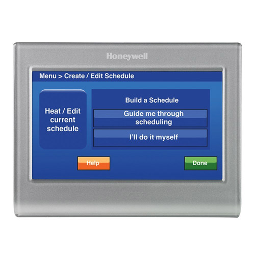 honeywell rth9580wf1005 wi fi 7 day programmable. Black Bedroom Furniture Sets. Home Design Ideas