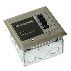 Honeywell 190097C, 3-Speed Wall Remote Control Switch For F111 Series 3, F118, F57A/B, F90A/B Models, Genuine (OEM)