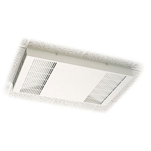 Honeywell F111C1012W-3S Ceiling Mount Commercial Media Air Cleaner, White