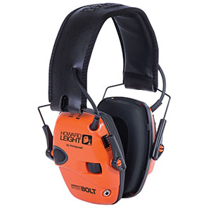 Honeywell Impact Sport Bolt Sound Amplification Earmuff, Orange R-02231