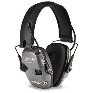 Honeywell Impact Sport Bolt Sound Amplification Earmuff, Grey R-02232