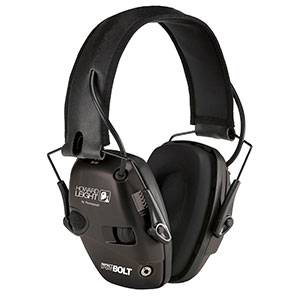 Honeywell Impact Sport Bolt Sound Amplification Earmuff, Black R-02525