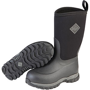 Muck Boots Kid's Rugged II Performance Outdoor Boot, Black, RG2-001