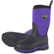 Muck Boots Kid's Rugged II Performance Outdoor Boot, Black/Purple, RG2-500