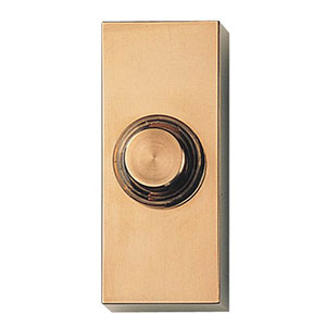 Honeywell RPW300A1001/A Wired Surface Mount Push Button for Door Chime