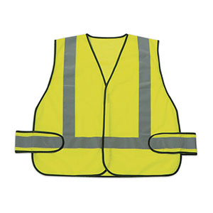 Honeywell High Visibility Lime Green Safety Vest with reflective - RWS-50004