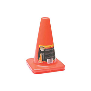 Honeywell 12 in. High Visibility Orange Safety/Traffic Cone - RWS-50010