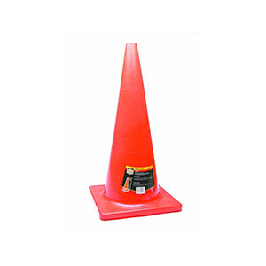 Honeywell 28 in. High Visibility Orange Safety/Traffic Cone - RWS-50012