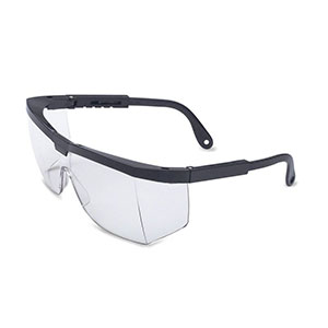 Honeywell A200 Safety Eyewear with Black Frame, Clear Lens- RWS-51003