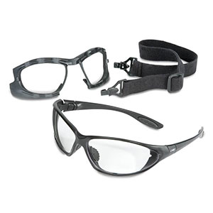 Honeywell Uvex Seismic 2-in-1 Eyewear and Goggle Kit - RWS-51043