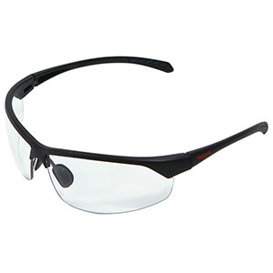 Honeywell HS300 Safety Eyewear, Matte Frame, Clear Lens, Scratch-Resistant Hardcoat Lens Coating - RWS-51070