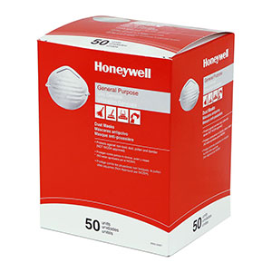 Honeywell Nuisance Particulate Disposable Dust Mask, 50 per box - RWS-54001