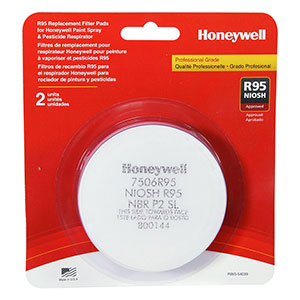 Honeywell R95 Pre-Filter Replacement Kit, for Respirators, 2 pk - RWS-54039
