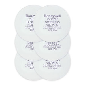 Honeywell R95 Pre-Filter Replacement Kit, for Respirators, 6 pk - RWS-54053