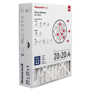Honeywell CF200A1024 Ultra Efficiency Air Cleaning Filter 20x20x4.5