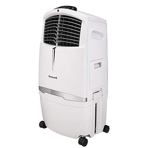 Honeywell CL30XCWW Portable Evaporative Air Cooler, 525 CFM (White)