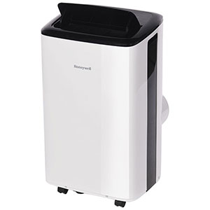 Honeywell HF10CESWK Compact Portable Air Conditioner, 10,000 BTU Cooling (White)