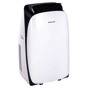 Honeywell HL09CESWK Portable Air Conditioner, 9,000 BTU Cooling (Black/white)