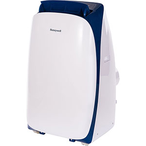 Honeywell HL10CESWB Portable Air Conditioner 10,000 BTU Cooling (White-Blue)
