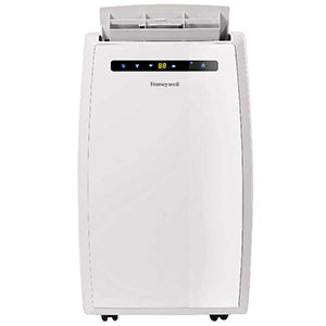 Honeywell MN12CEDWW Portable Air Conditioner, 12,000 BTU, Dual Hose (White)