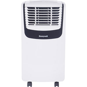 Honeywell MO08CESWK Compact Air Conditionerr, 8,000 BTU Cooling (White/Black)