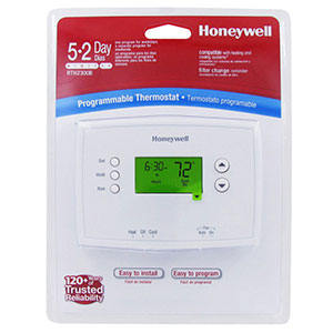 Honeywell RTH2300B1012/U 5/2-Day Programmable Thermostat