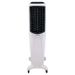 Honeywell TC50PEU Evaporative Tower Air Cooler & Humidifier, 588 CFM (White)