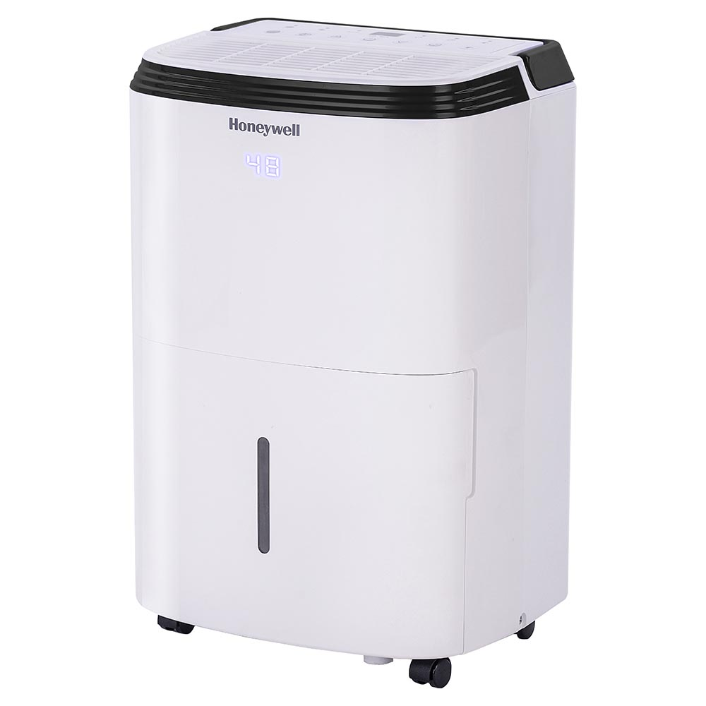 Honeywell TP70PWK 70 Pint Dehumidifier with Built-In Drain Pump for Large Basement & Rooms Up To 4000 Sq. Ft.
